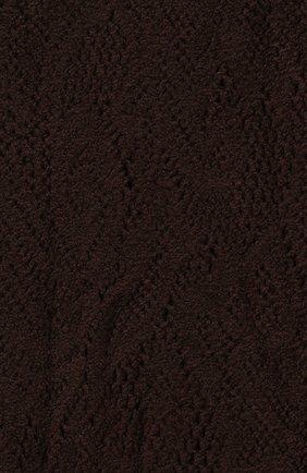 Женские колготки DRIES VAN NOTEN темно-коричневого цвета, арт. 202-11901 | Фото 2