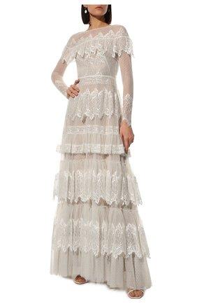 Женское платье ZUHAIR MURAD белого цвета, арт. DRP20038/LMIX007 | Фото 2