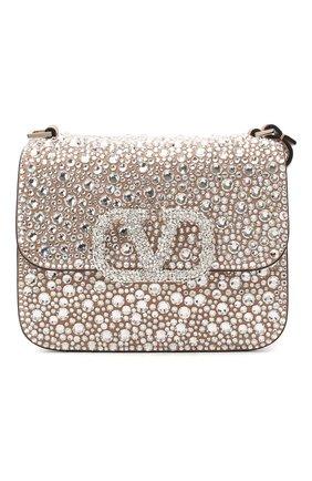 Женская сумка valentino garavani vsling VALENTINO серебряного цвета, арт. UW2B0F01/EKF | Фото 1
