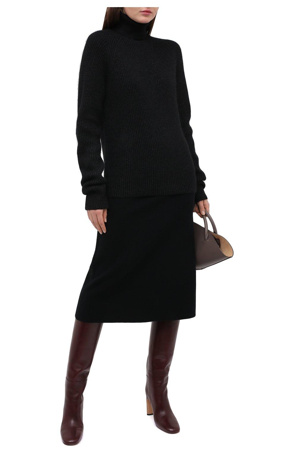 Женский свитер JOSEPH темно-серого цвета, арт. JF005038   Фото 2
