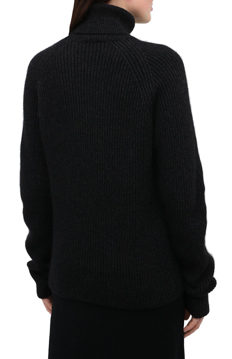 Женский свитер JOSEPH темно-серого цвета, арт. JF005038   Фото 4