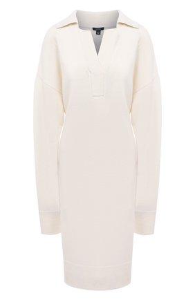 Женское шерстяное платье JOSEPH белого цвета, арт. JF005055 | Фото 1