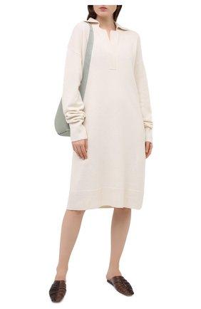 Женское шерстяное платье JOSEPH белого цвета, арт. JF005055 | Фото 2