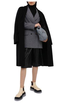 Женский жакет из шерсти и шелка JOSEPH серого цвета, арт. JF005112 | Фото 2