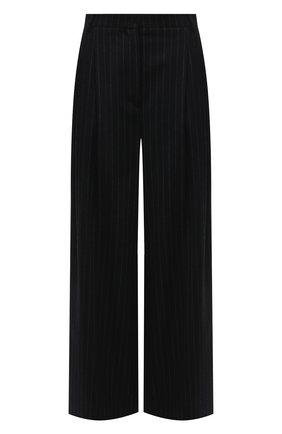 Женские шерстяные брюки JOSEPH темно-синего цвета, арт. JP001045 | Фото 1