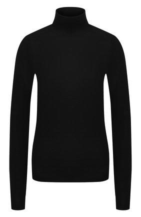 Женская шерстяная водолазка TOTÊME черного цвета, арт. Z0ZA 204-551-751 | Фото 1