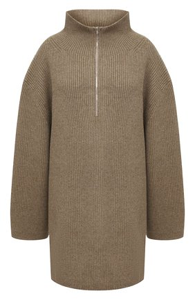 Женский шерстяной свитер TOTÊME хаки цвета, арт. T0MAR 204-549-750 | Фото 1