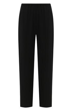 Женские брюки TOTÊME черного цвета, арт. P0NT0L0 203-226-715 | Фото 1