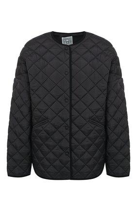 Женская куртка TOTÊME черного цвета, арт. DUBLIN 195-177-732 | Фото 1
