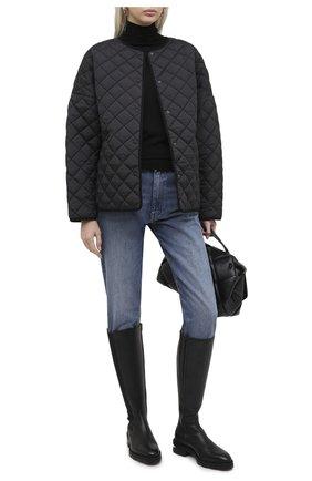 Женская куртка TOTÊME черного цвета, арт. DUBLIN 195-177-732 | Фото 2