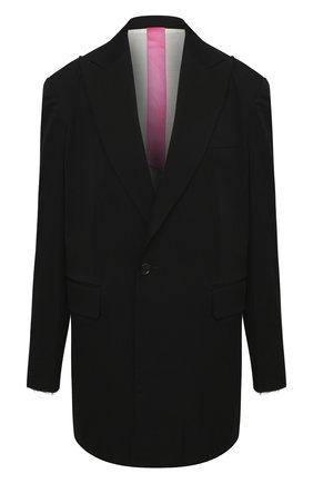 Женский шерстяной жакет Y`S черного цвета, арт. YB-J40-130 | Фото 1