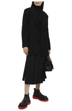 Женский шерстяной жакет Y`S черного цвета, арт. YB-J40-130 | Фото 2