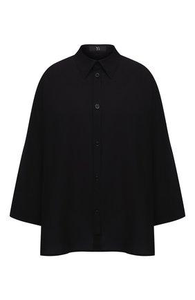 Женская рубашка Y`S черного цвета, арт. YB-B03-030 | Фото 1