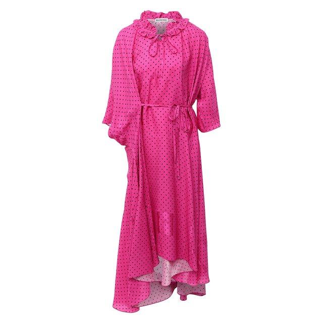 Платье из вискозы Balenciaga