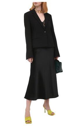 Женская юбка GALVAN LONDON черного цвета, арт. 100SGSK4000 | Фото 2