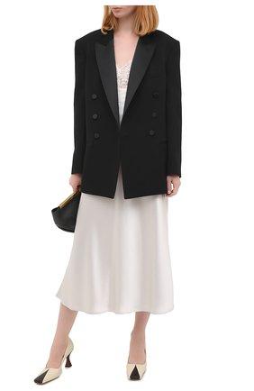Женская юбка GALVAN LONDON серебряного цвета, арт. 120SGSK4000 | Фото 2
