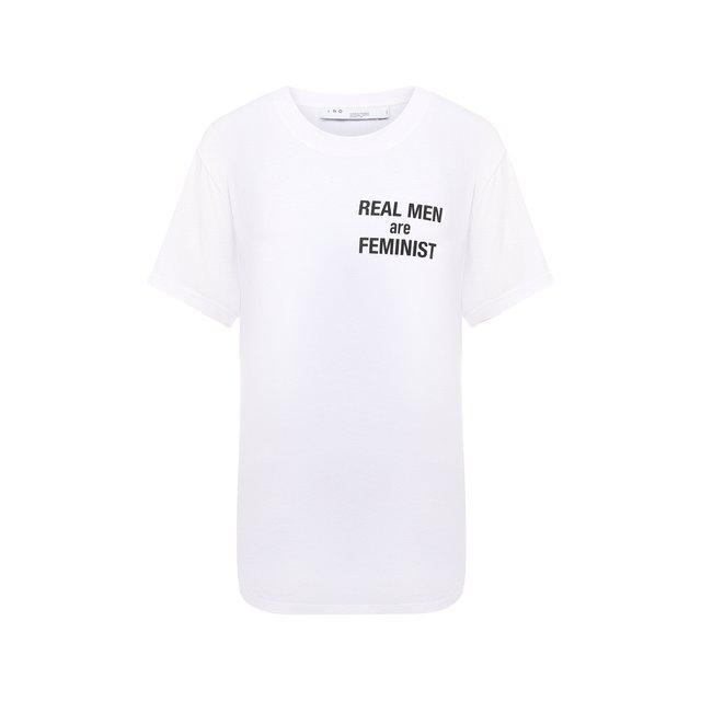 Хлопковая футболка Iro