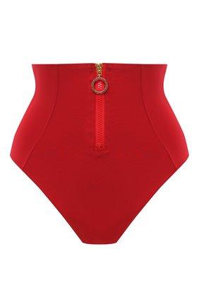 Женский плавки-бикини STELLA MCCARTNEY красного цвета, арт. S7B240950 | Фото 1