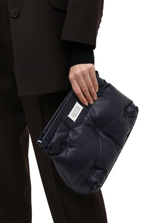 Женская сумка glam slam MAISON MARGIELA темно-синего цвета, арт. S61WG0032/PR818   Фото 2
