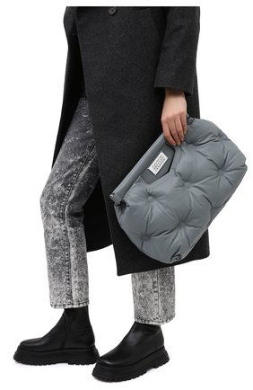 Женская сумка glam slam MAISON MARGIELA серого цвета, арт. S61WG0034/PR818 | Фото 2