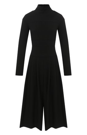 Женский комбинезон ELEVENTY черного цвета, арт. B80ABIB03 TES0B201 | Фото 1