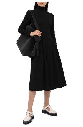 Женский комбинезон ELEVENTY черного цвета, арт. B80ABIB03 TES0B201 | Фото 2