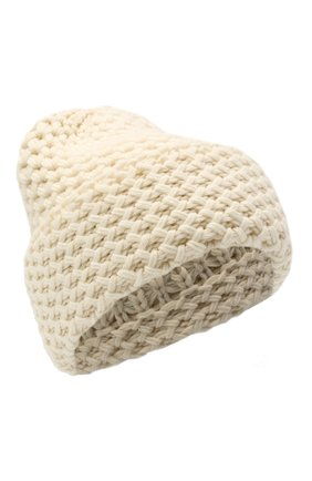 Женская кашемировая шапка INVERNI белого цвета, арт. 4232CM | Фото 1
