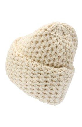 Женская кашемировая шапка INVERNI белого цвета, арт. 4232CM | Фото 2