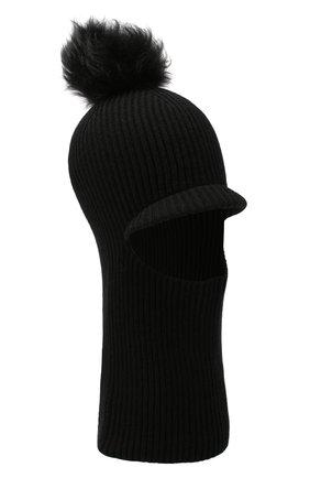 Женская шапка-балаклава INVERNI черного цвета, арт. 4922CM   Фото 1