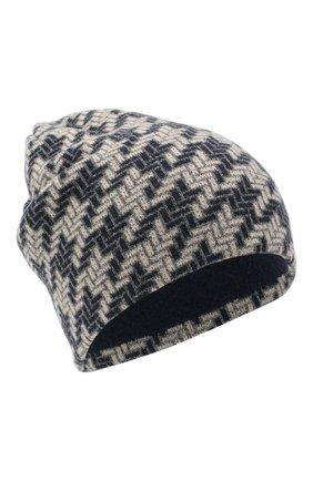 Женская шапка из шерсти и кашемира INVERNI синего цвета, арт. 5077CM   Фото 1