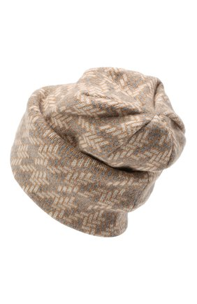 Женский шапка из шерсти и кашемира INVERNI серого цвета, арт. 5077CM   Фото 2