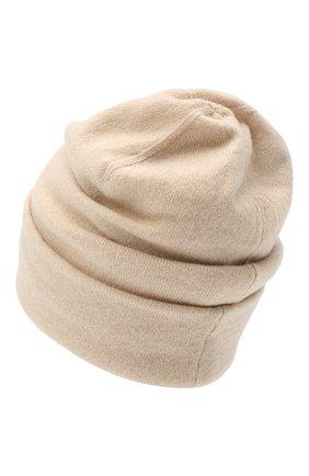 Женская кашемировая шапка INVERNI светло-бежевого цвета, арт. 5118CM   Фото 2