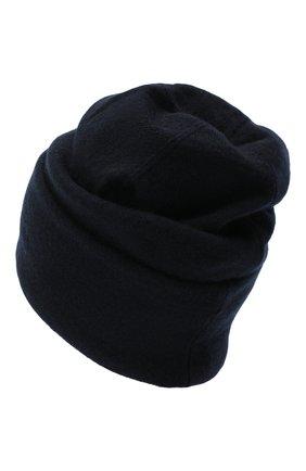 Женская кашемировая шапка INVERNI темно-синего цвета, арт. 5118CM   Фото 2