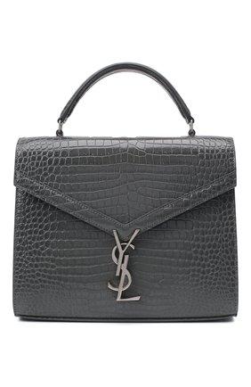 Женская сумка cassandra medium SAINT LAURENT темно-серого цвета, арт. 623931/DND0E | Фото 1