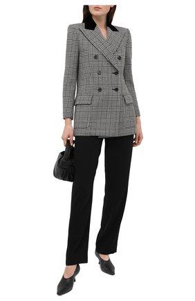 Женский шерстяной жакет SAINT LAURENT серого цвета, арт. 641430/Y7B05 | Фото 2
