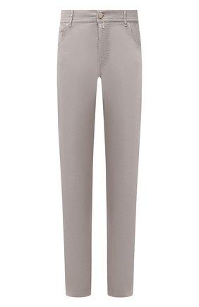 Мужской брюки из хлопка и кашемира KITON бежевого цвета, арт. UPNJSJ02T47   Фото 1