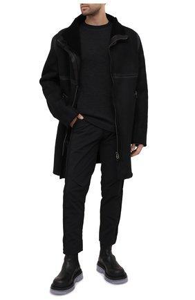Мужская дубленка DANIELE BASTA черного цвета, арт. DB728X29X25CF/BABU L0NG CF | Фото 2