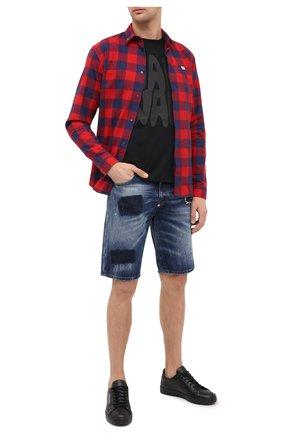 Мужская хлопковая рубашка PHILIPP PLEIN черного цвета, арт. F20C MRP1364 PTE003N | Фото 2