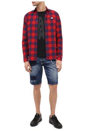 Мужские джинсовые шорты PHILIPP PLEIN синего цвета, арт. F20C MDT2245 PDE004N | Фото 2