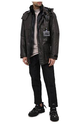 Мужская утепленная парка C.P. COMPANY черного цвета, арт. 09CM0W104A-005796A | Фото 2