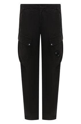 Мужской хлопковые брюки-карго C.P. COMPANY черного цвета, арт. 09CMPA137A-005529G | Фото 1