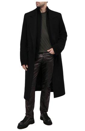 Мужская шерстяной кардиган A-COLD-WALL* черного цвета, арт. ACWMK013E | Фото 2