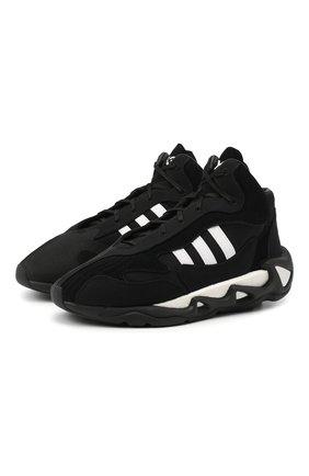 Мужские комбинированные кроссовки s-97 ii Y-3 черного цвета, арт. FX1329/M | Фото 1