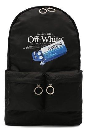 Мужской рюкзак pascal medicine OFF-WHITE черного цвета, арт. 0MNB003F20FAB0021001 | Фото 1