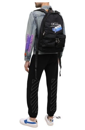 Мужской рюкзак pascal medicine OFF-WHITE черного цвета, арт. 0MNB003F20FAB0021001 | Фото 2