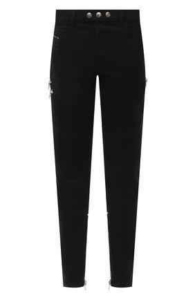 Мужские джинсы DIESEL черного цвета, арт. A01008/069QV | Фото 1