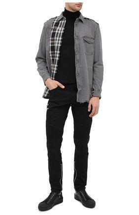 Мужские джинсы DIESEL черного цвета, арт. A01008/069QV | Фото 2