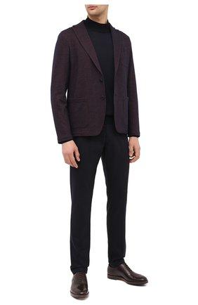 Мужской пиджак из шерсти и хлопка ALTEA коричневого цвета, арт. 2062304 | Фото 2