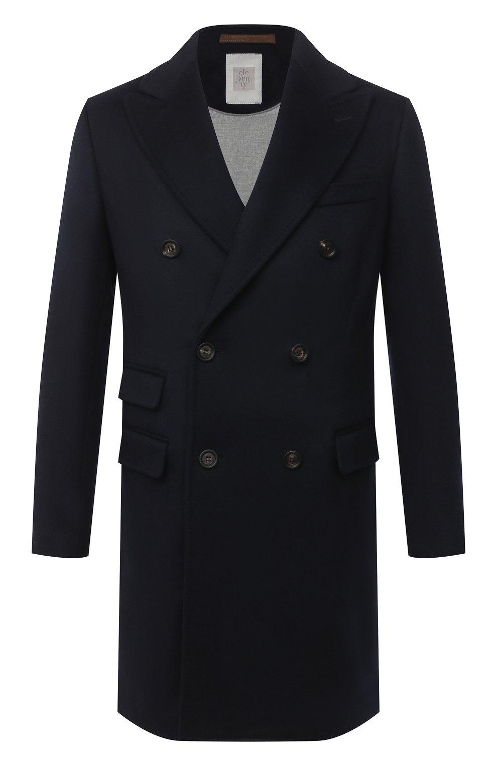 Мужской пальто из шерсти и кашемира ELEVENTY темно-синего цвета, арт. B70CAPB08 TES0B123 | Фото 1