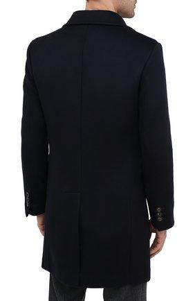 Мужской пальто из шерсти и кашемира ELEVENTY темно-синего цвета, арт. B70CAPB08 TES0B123 | Фото 4